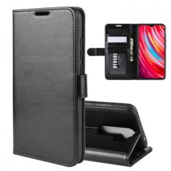 Xiaomi Redmi Note 8 Pro Plånboksfodral PU-Läder 4-FACK Svart
