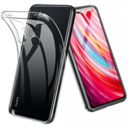Xiaomi Redmi Note 8 Stötdämpande Silikon Skal Simple® Transparent