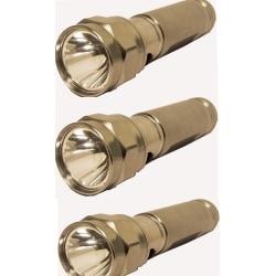 Ficklampor 3 st Aluminium