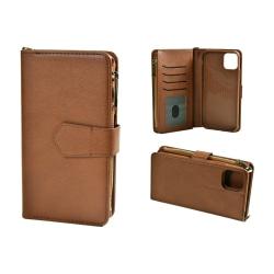 Plånboksfodral till iPhone 11 Pro Max Löstagbar Skal Brun Brun