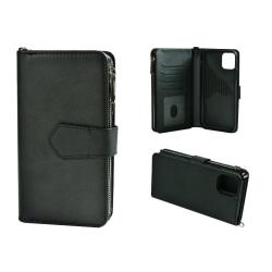 Plånboksfodral till iPhone 11 Pro Max Löstagbar Skal Svart Svart
