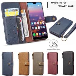 Plånboksfodral till iPhone 11 Pro Max  med nyckelring Beige Brun
