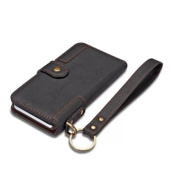 Plånboksfodral till iPhone 11 Pro med nyckelring Svart Svart