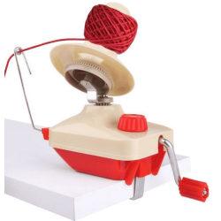 Nystmaskin röd - för garn, band och tråd Röd one size