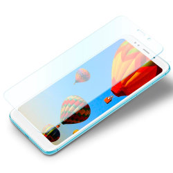 1x Äkta 9H Skyddsglas för Xiaomi Redmi 5 Plus Skärmskydd 0,3 mm  Transparent