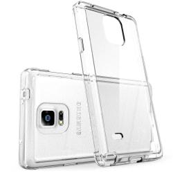 Enfärgat Transparent Mjukt Skal för Samsung Galaxy Note 4 Klart Transparent