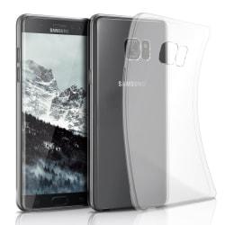 Enfärgat Transparent Mjukt Skal för Samsung Galaxy Note 7 Siliko Transparent