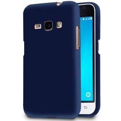 Mjukt Tunnt Mobilskal för Samsung Galaxy J1 Gummi Enfärgat Mobil Mörkblå