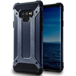 Hybrid Mobil Skal till Samsung Galaxy Note 9 | Blå | TPU och Pla Blå
