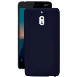 Matt Mjukt Skal för Nokia 2.1 Ultra-Slim Lätt Telefon Marinblå Mörkblå