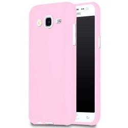 Mjukt Mobil-Skydd för Samsung Galaxy J5 Mobilskydd Stötsäker Gum Rosa