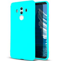 Mjukt Skal till Huawei Mate 10 Pro i TPU Silikon Turkos Turkos
