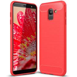 Mjukt Skal till Samsung Galaxy J6 (2018) i TPU Silikon Röd Röd