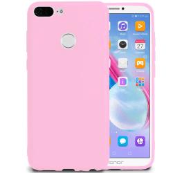 Mjukt Tunnt Mobilskal för Huawei Honor 9 Lite Mobilskydd Rosa Rosa