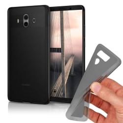 Mjukt Tunnt Mobilskal för Huawei Mate 10 Pro Stötsäker Skydd TPU Mörkgrå