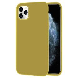 Mjukt Tunnt Mobilskal för iPhone 11 Pro Lätt Enfärgat Silikon Ul Citron gul