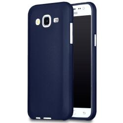 Mjukt Tunnt Mobilskal för Samsung Galaxy J5 Silikon Enfärgat Mob Mörkblå