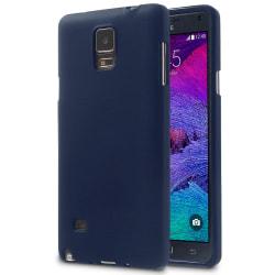 Mjukt Tunnt Mobilskal för Samsung Galaxy Note 4 Ultra-Slim Skydd Mörkblå