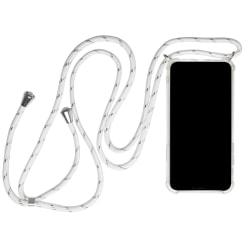 Mobilskal Halskedja för iPhone 11 Gummi Skydd Mobilskydd Telefon Vit