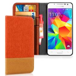 Samsung Galaxy J5 Stötsäker TPU Skal Mobilskydd Jeans Telefon Mo Orange