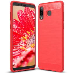 Skal Skydd till Samsung Galaxy A9 Star | Röd Stöttåligt TPU Röd