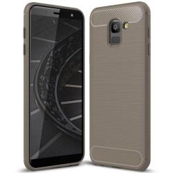 Skal Skydd till Samsung Galaxy J6 (2018) | Grå Stöttåligt TPU grå