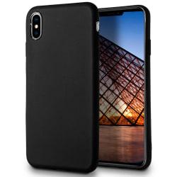 Skal till Apple iPhone XS MAX Svart TPU Skydd Fodral Svart