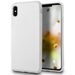 Skal till Apple iPhone XS MAX Vit matt TPU Skydd Fodral Vit