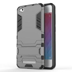 Skal till Xiaomi Redmi 4A Space Armor Grå Skydd Fodral Kickstand grå