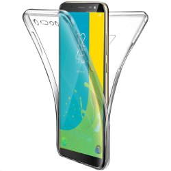 Stötsäkert Skal för Samsung Galaxy J6 (2018) Gummi 360 Graders S Transparent