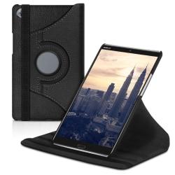 Tabletfodral Mikrofiber för Huawei MediaPad M5 8 Etui Ställfunkt Svart