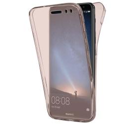 TPU Mobil-Skal för Huawei Mate 10 lite Klart Gummi Stötsäker Tel Rosa guld
