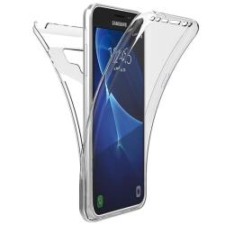 TPU Mobil-Skal för Samsung Galaxy Note 9 Gummi Stötsäker Full Sk Transparent