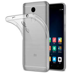 Tunnt Mjukt Skal för Xiaomi Redmi Note 4x Gummi Enfärgat Klart Transparent