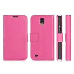 Mobilplånbok 2-kort Samsung Galaxy S4 (GT-i9500) Rosa