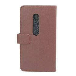 Mobilplånbok 2-kort Motorola Moto X Play (XT1563) Brun