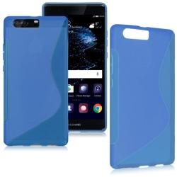 S Line silikon skal Huawei P10 (VTR-L29) Blå
