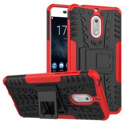 Stöttåligt skal med ställ Nokia 6 (TA-1021) Röd