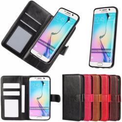 Mobilplånbok MOVE 2i1 Samsung Galaxy S6 Edge (SM-G925F) Ljus brun