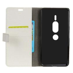 Mobilplånbok 2-kort Sony Xperia XZ2 Premium (H8166) Vit