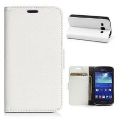 Mobilplånbok 2-kort Samsung Galaxy Trend 2 (SM-G313H) Vit