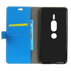 Mobilplånbok 2-kort Sony Xperia XZ2 Premium (H8166) Blå