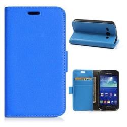 Mobilplånbok 2-kort Samsung Galaxy Trend 2 (SM-G313H) Blå