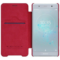Nillkin Qin FlipCover Sony Xperia XZ2 Premium (H8166) Röd