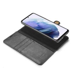 Mobilplånbok DG-Ming 2i1 Samsung Galaxy S21 Plus Svart