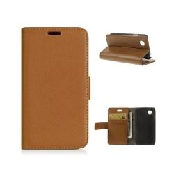 Mobilplånbok 2-kort LG L40 (D170) Brun