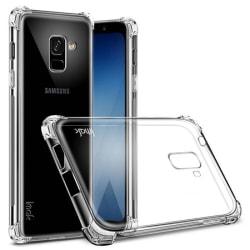 IMAK Shockproof silikonskal Samsung Galaxy A8 Plus 2018 (SM-A730 Transparent