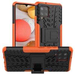 Stöttåligt skal med ställ Samsung Galaxy A42 Orange