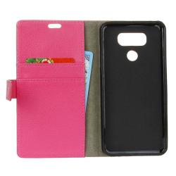 Mobilplånbok 2-kort LG V40 ThinQ (LM-V405) Rosa