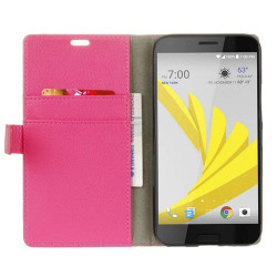 Mobilplånbok 2-kort HTC 10 EVO Rosa